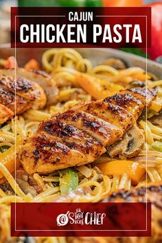 Cajun Chicken Pasta, Chicken Spices, Chicken Curry, Yummy Chicken Recipes, Pasta Recipes, Cooking Recipes, Best Dinner Recipes, Linguine, How To Cook Pasta
