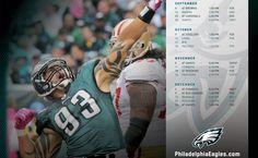 Philadelphia Eagles 2012 Schedule #Eagles
