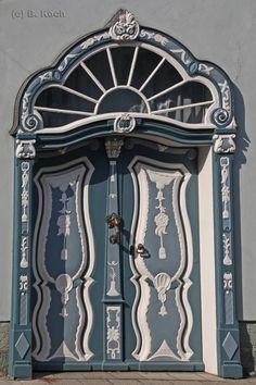 Rococo Door Stadtmuseum Lippstadt, Nordrhein-Westfalen, Germany - Photo by B. Koch