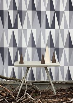 great geometric pattern... future wall or rug?