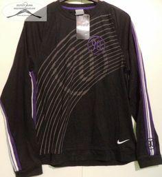 1 darab,  Nike, S-es, fekete,vékony pamut pulover