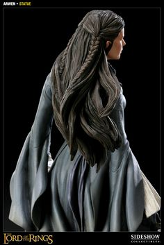 Emphasis on the hair. (Arwen, Lord of the Rings)