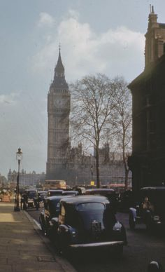 Big Ben, London, England, 1948