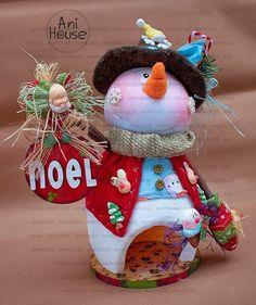 Snowman, Merry, Crafty, Christmas Ornaments, Holiday Decor, Home Decor, Art, Primitives, Christmas Drawing