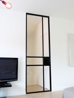 "glass door stalen deuren ""slim fit"" « AD&C porta da interni in vetro"