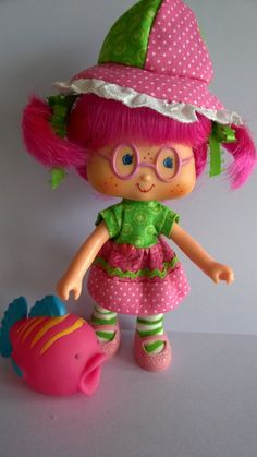 Watermelon Summer and Sorbet Strawberry Shortcake Characters, Vintage Strawberry Shortcake Dolls, My Childhood Memories, Childhood Toys, Dream Doll, Retro Toys, Antique Toys, Custom Dolls, Old Toys