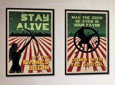 Hunger Games fan art posters