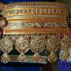 Where To Sell Gold Jewelry For Best Price Refferal: 5908461176 Clean Gold Jewelry, Stylish Jewelry, Fashion Jewelry, Royal Jewelry, India Jewelry, Gold Jewellery, Bridal Jewellery, Rajput Jewellery, Where To Sell Gold