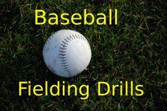 3 of the best baseball fielding drills. http://www.thebestbaseballdrills.com/baseball-fielding-drills/ #baseball #drills #mlb #coach #coaching