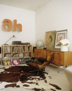 If this were your home, what alphabets would you use on the wall? Is it possible to be classy and fun at the same time?