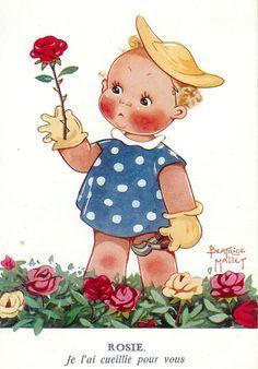 Beatrice Mallet - Illustration - Rosie