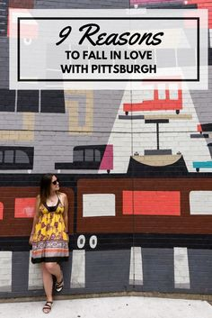 9 Reasons to Fall in Love with Pittsburgh, PA, USA  #Pittsburgh #Travel #USA #StreetArt #Vegan