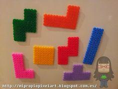 Mi Propio Pixel Art con Hama Beads. Tetris hama beads