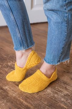 Heeled Mules, Slippers, Knitting, Pattern, Handmade, Shoes, Blog, Projects, Inspiration