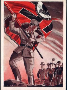 Third Reich propaganda postcard. Loading that magazine is a pain! Get your Magazine speedloader today! http://www.amazon.com/shops/raeind