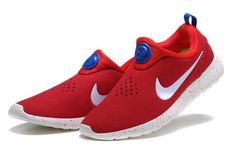 hot sale online d30fa 8caba Buy New Arrival Nike Roshe Run Slip On Womens Suede Promo Red White Blue  Shoes from Reliable New Arrival Nike Roshe Run Slip On Womens Suede Promo  Red White ...