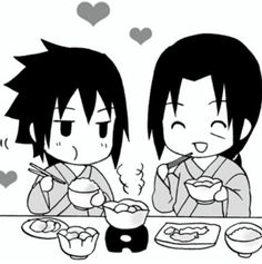 Sasuke & Itachi Chibi