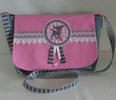 Kindertasche 'Reh' von HandArt by Nina auf DaWanda.com