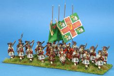 Earl of Antrim's (MacDonnell) Regiment of Foot---Battle of the Boyne; 1690 AD