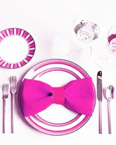 #pink #bow