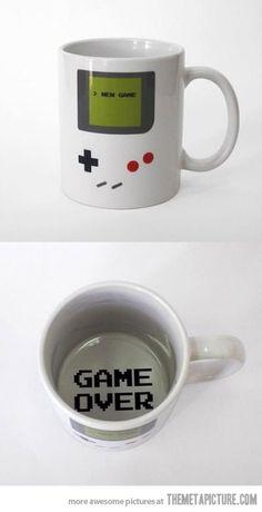A gamer's mug