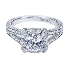 Gabriel & Co.- Designer Engagement Rings-Designer Jewelry-Valdosta, GA- A Preferred Jeweler- Steel's Jewelry