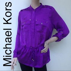 Take Additional 50% OffNWT authentic MK top Nice color top .i have size large and medium MICHAEL Michael Kors Tops