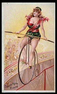 Very old bike girls