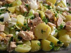 """""""Papas aliñás"""" o aliño andaluz de patatas cocidas – Andalusian potato salad"""