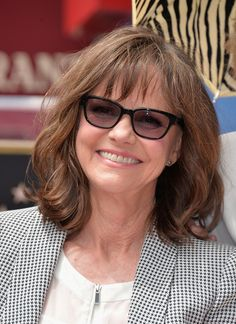Hairstyles For Over 60 Year Olds Sally Field 63 Has