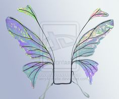 Retired Iridescent Wings by FaeryAzarelle.deviantart.com on @deviantART