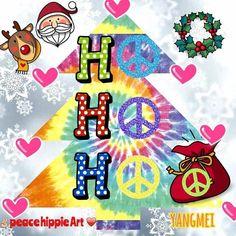 ☮ American Hippie Quotes ~ H☮ H☮ H☮ .. Merry Christmas .. Peace to you!