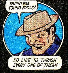 My thoughts entirely. From 'Blue Bolt Comics' # 12