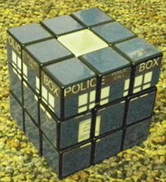Doctor Who Rubix cube-  has more meaning than anyone but a Whovian would know.  I half expect it to take over the human race.