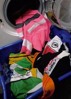 Cycling jerseys shorts washing machine temperature Rapha Assos