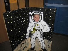 blast off vbs decorations | Space Themed VBS Photo Booth