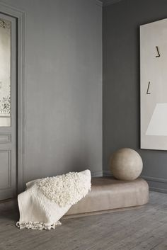The Minimalist Home x Heidi lerkenfeldt 09. Door n trim same colour as wall/wardrobe