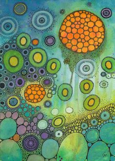ABSTRACT DOODLES by Courtney Autumn Martin, via Behance
