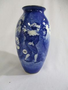 Royal Doulton Babes in the Woods Vase. Sold $95