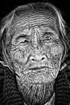 "Indochina - The stories she could tell ""Beautiful young people are accidents of nature, but beautiful old people are works of art."" - Eleanor Roosevelt"
