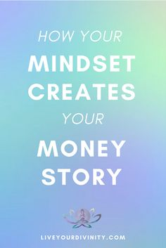 How to heal your money mindset when you are looking how to make more money to pay off debt, be debt free, using the law of attraction, manifesting abundance, manifesting money. Money Affirmations, Positive Affirmations, Positive Mindset, Positive Thoughts, Law Of Attraction Love, Manifesting Money, Mental Training, Wealth Creation, Law Of Attraction Affirmations