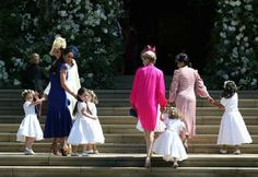 The Children from Prince Harry and Meghan Markle s Royal Wedding Day Photos Kate Middleton and members of the wedding party arrive. Prince Harry Wedding, Harry And Meghan Wedding, Meghan Markle Wedding, Prince Harry Et Meghan, Meghan Markle Prince Harry, Princess Meghan, Princess Diana, Kate Middleton, Wedding Portraits