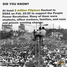 #EDSA fact/trivia  #EDSA28