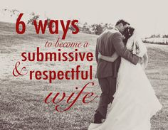 I have pondered a great deal on what it means to be a submissive wife. Ever since I gave my life tothe Lord and began preparing my heart for my husband, I wondered at the concept. Now I'm well int...