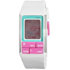 Casio Women's LDF51-7C Futuristic Slim Case Digital Sport Watch >>> Click image to review more details. (This is an affiliate link) #Accessories