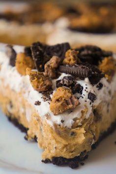 No Bake Oreo Peanut
