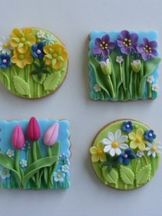 If I received these for my bday, I would probably be the happiest clam or the most exuberant firecracker!!  GORGEOUS!  My friend Robin can make these for you!!!.