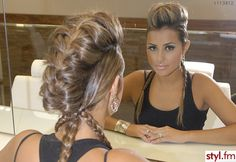 OMG!! I am in <3 with this braided fohawk!!