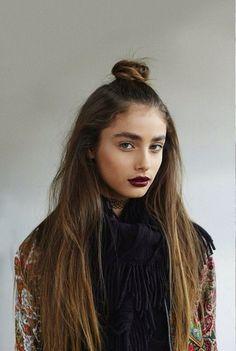 grunge makeup look