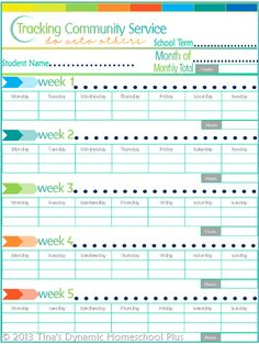 Grab this free Community-Service-Tracker to track volunteer hours for your middle and high school homeschooled kids over at Tina's Dynamic Homeschool Plus. Part of the free 7 Step Homeschool Planner. Community Service Hours, Community Service Projects, School Community, Curriculum Planner, Homeschool Curriculum, Homeschool Transcripts, Homeschooling Resources, Service Club, Service Ideas